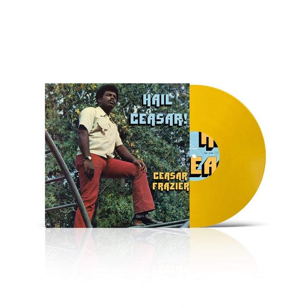 Ceasar Frazier - Hail Ceasar! (LP - Fat Beats Exclusive - Custard Yellow Vinyl) Tidal Waves Music