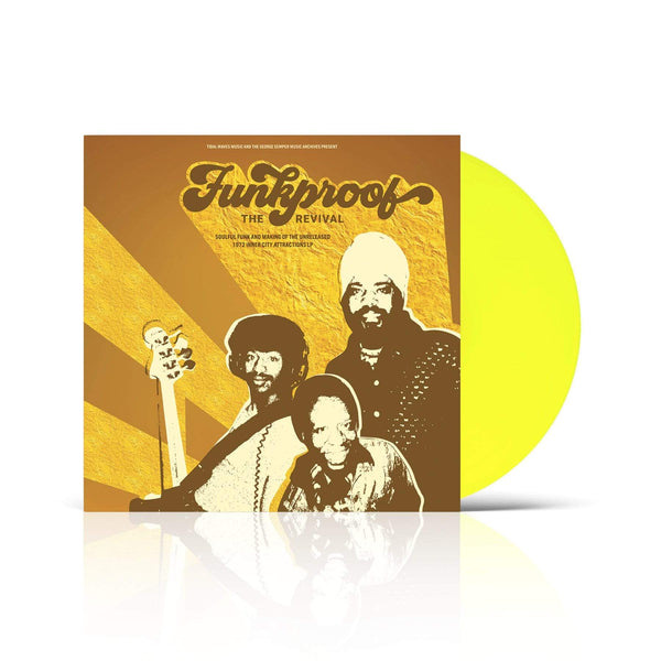 Funkproof - The Revival (LP - Yellow Vinyl - Fat Beats Exclusive) Tidal Waves Music