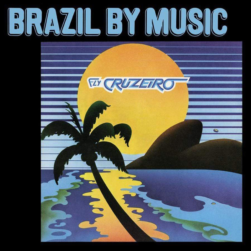 Marcos Valle & Azymuth - Fly Cruzeiro (LP - Fat Beats Exclusive - Clear Vinyl With Blue & Yellow Splatter) Tidal Waves Music