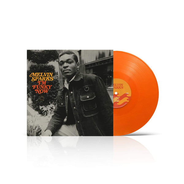 Melvin Sparks - I'm Funky Now (LP - Tangerine Vinyl - Fat Beats Exclusive) Tidal Waves Music