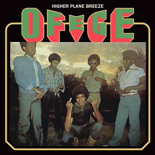 Ofege - Higher Plane Breeze (LP - Fat Beats Exclusive Clear Vinyl) Tidal Waves Music