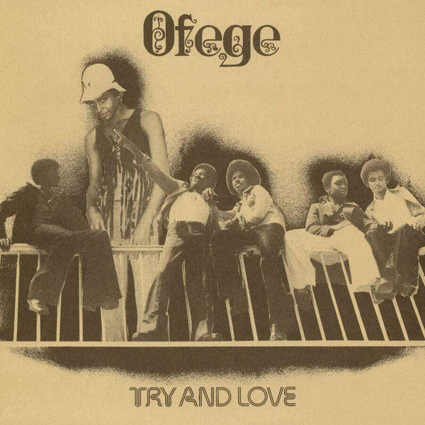 Ofege - Try And Love (LP - Fat Beats Exclusive Clear Vinyl) Tidal Waves Music