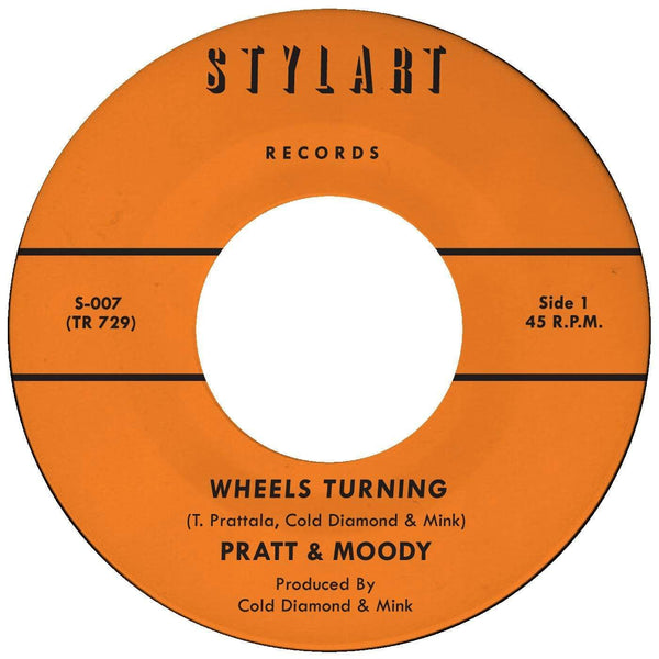 "Pratt & Moody - Wheels Turning b/w Instrumental (7"") Timmion Records"