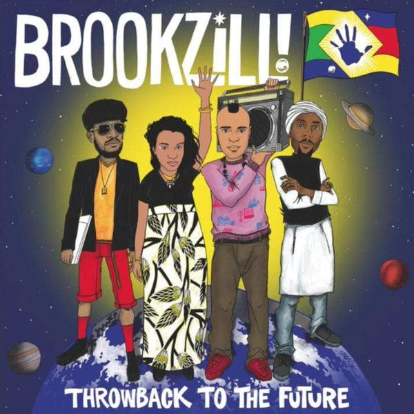 BROOKZILL! - Throwback to the Future (LP) Tommy Boy