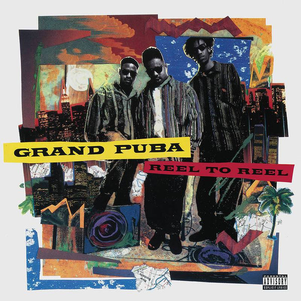 Grand Puba - Reel To Reel (2xLP - Color Vinyl) Tommy Boy