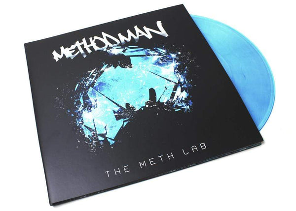 "Method Man - The Meth Lab (2xLP - ""Crystal-Clear"" Blue Vinyl) Tommy Boy"