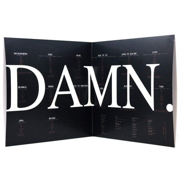 Kendrick Lamar - DAMN.: Collectors Edition (2xLP - Clear Vinyl) Top Dawg Entertainment