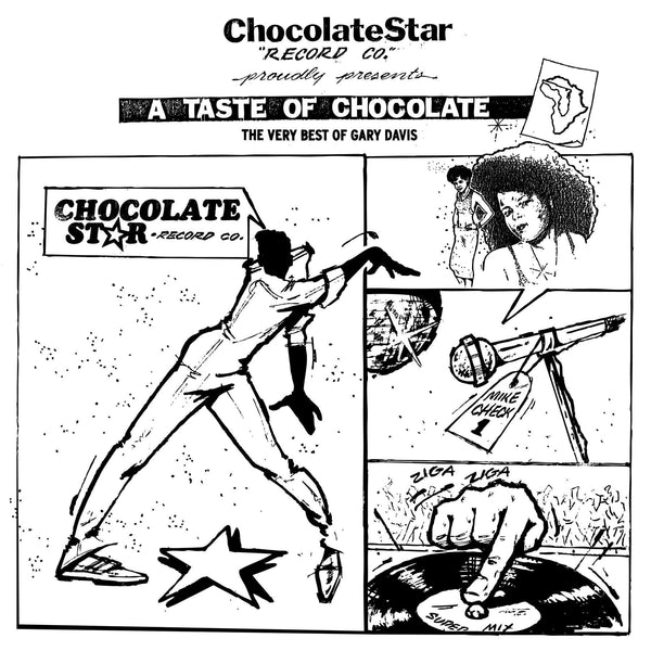 Gary Davis - A Taste of Chocolate: The Very Best Of (CD) Traffic Entertainment Group