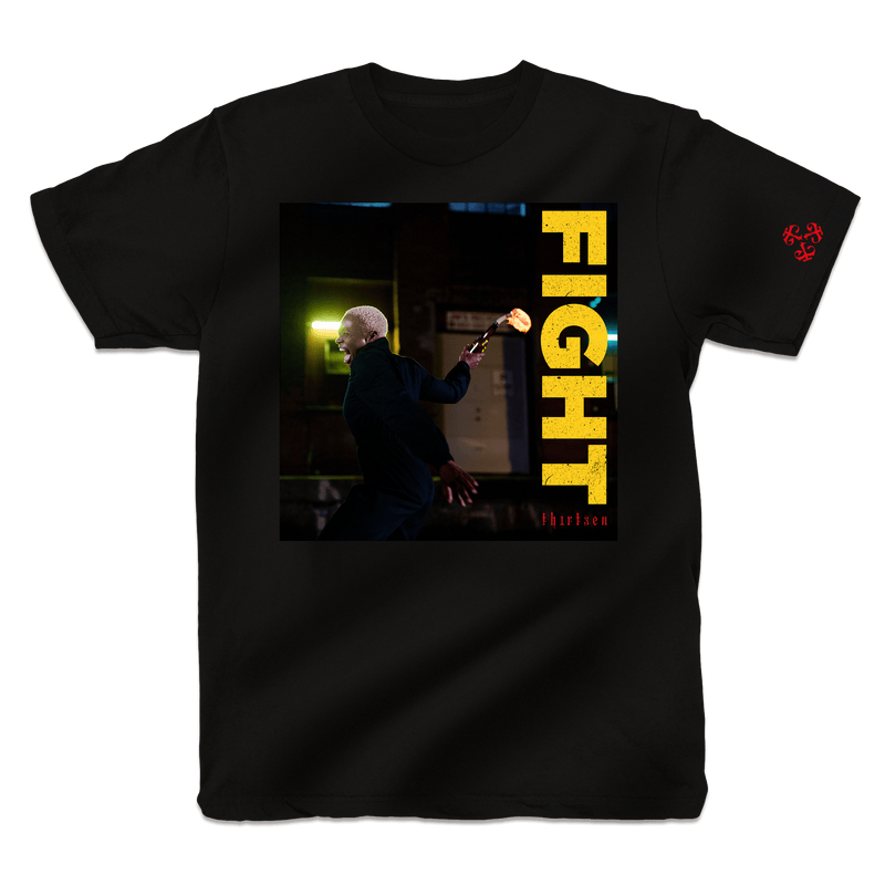 Pharaohe Monch - Fight! (Flame Shirt) Trescadecaphobia Music