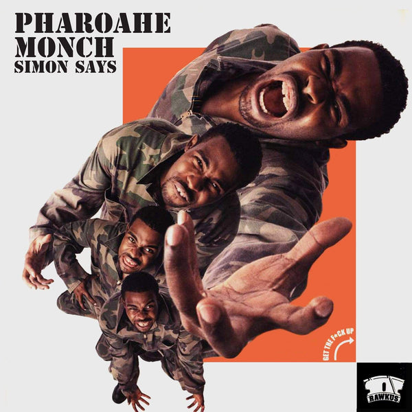 "Pharoahe Monch - Simon Says b/w Instrumental (7"") Trescadecaphobia"