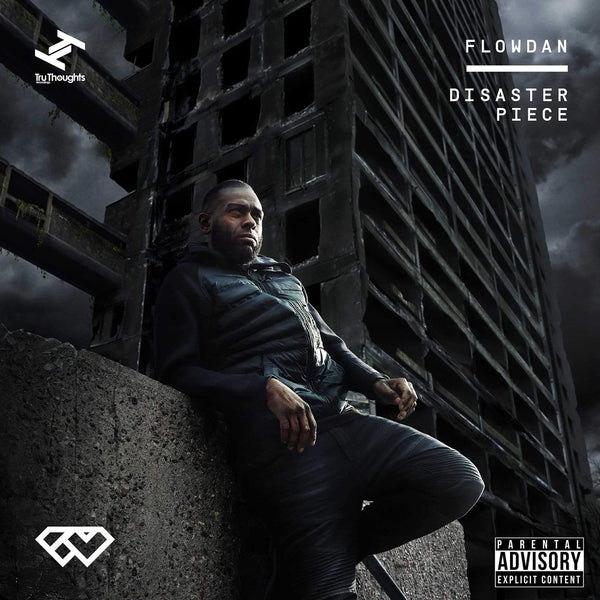 Flowdan - Disaster Piece (LP - Black/White Vinyl) Tru Thoughts