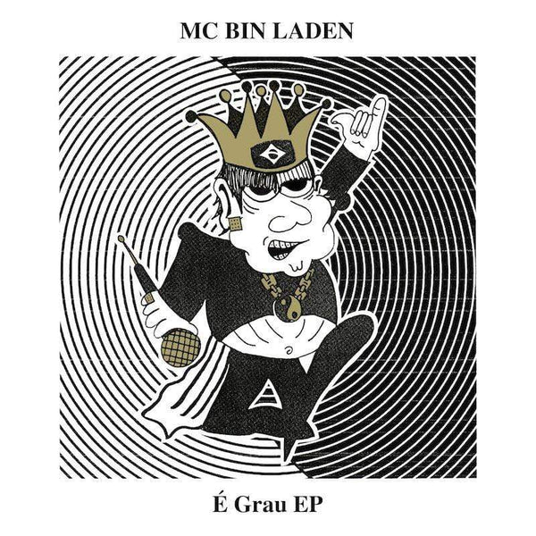 "MC Bin Laden - É Grau (EP - 12"" Vinyl) True Panther Sounds"