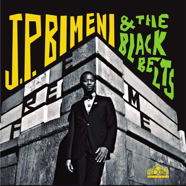 J.P. Bimeni & The Black Belts - Free Me (CD) Tucxone Records