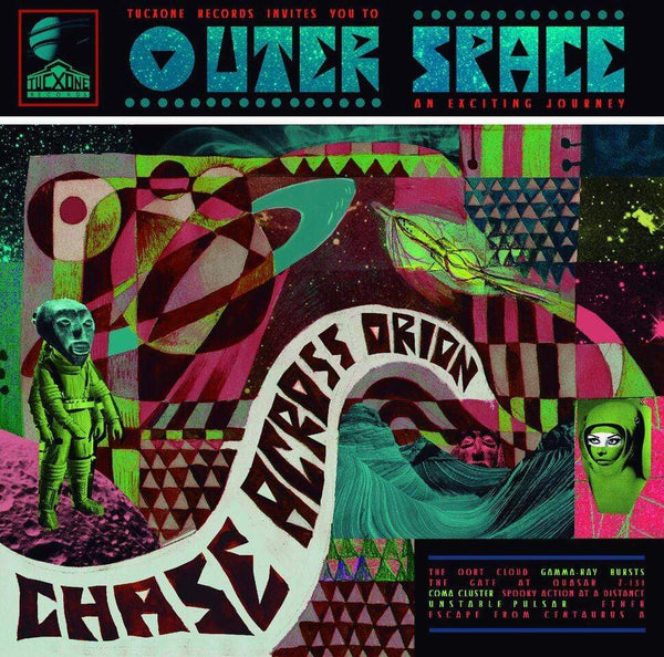 Outer Space - Chase Across Orion (CD) Tucxone Records