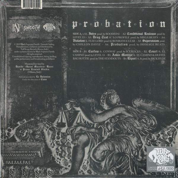 Doloboat - Probation (LP) Tuff Kong Records