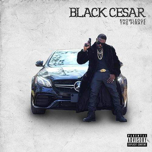 Knowledge The Pirate - Black Cesar (CD) Tuff Kong Records