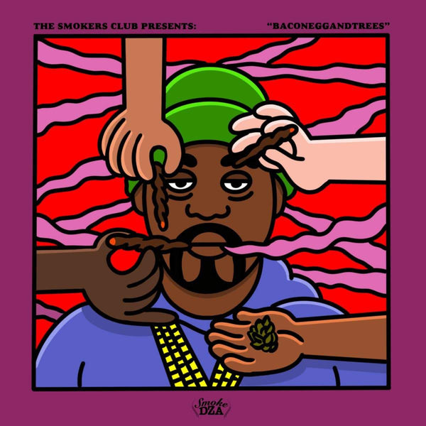 Smoke DZA - Baconeggandtree (LP) Tuff Kong Records