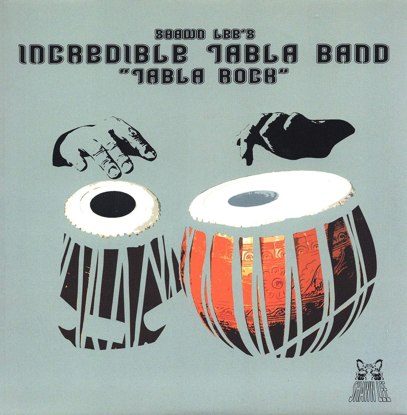 "Shawn Lee's Incredible Tabla Band - Apache b/w Bongo Rock (7"" - White Vinyl - Fat Beats Exclusive) Ubiquity Recordings"