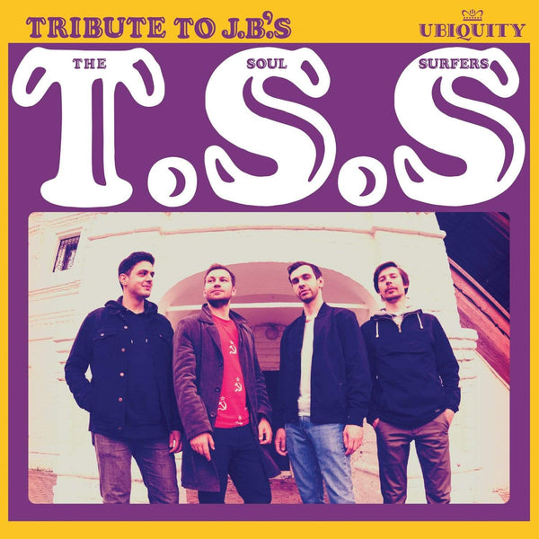 The Soul Surfers - Tribute To J.B.'s (7'') Ubiquity Recordings