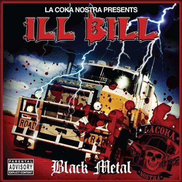 "ILL BILL - Black Metal (2xLP + 7"" Splatter Vinyl - Fat Beats Exclusive) Uncle Howie Records"