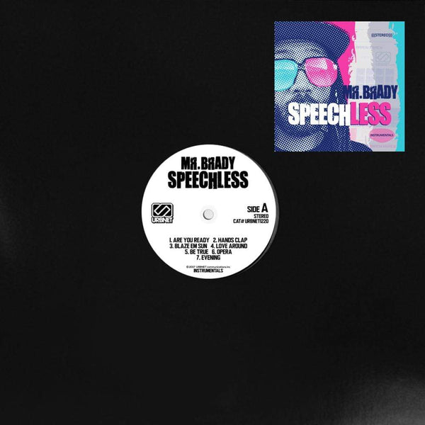 Mr. Brady - Speechless (LP) URBNET
