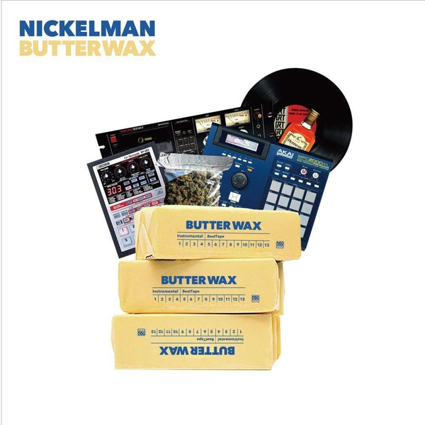 Nickelman - ButterWax (LP) URBNET