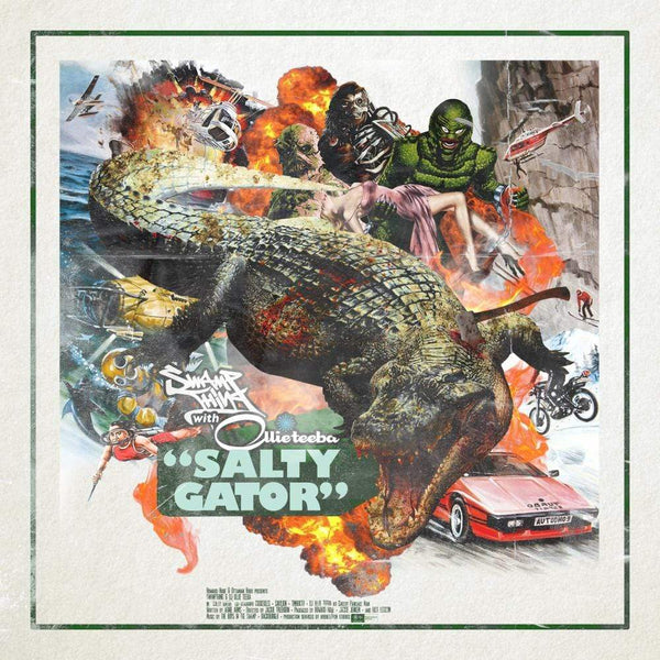 Swamp Thing & Ollie Teeba - Salty Gator (LP) URBNET