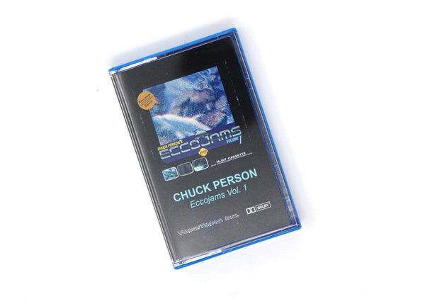 Chuck Person ‎– Chuck Person's Eccojams Vol. 1 (Cassette) VaporTapes, Inc.