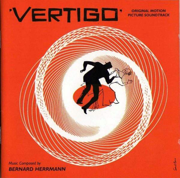 Bernard Herrmann - Vertigo: Original Motion Picture Soundtrack (LP) Varese Sarabande Records