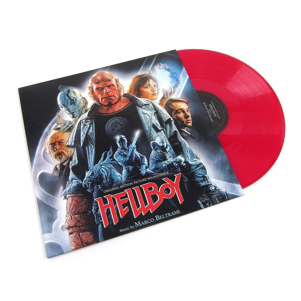 Marco Beltrami - Hellboy: Original Soundtrack (LP - Red Vinyl) Varese Sarabande Records