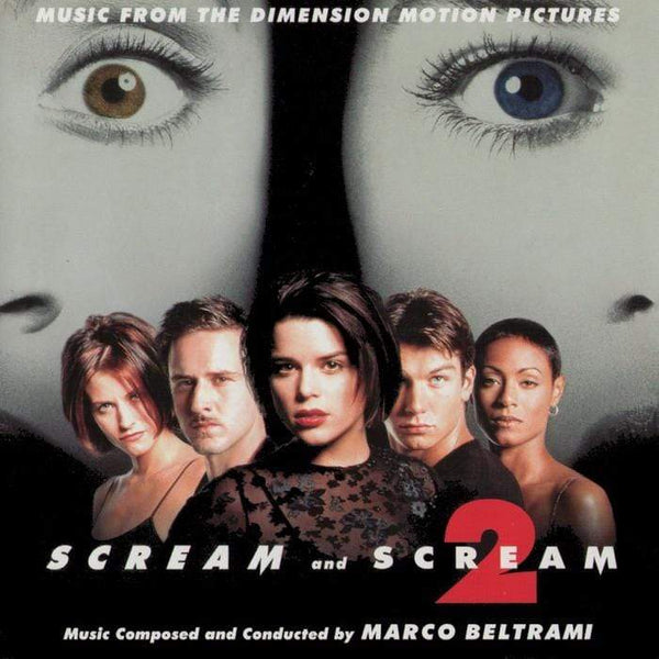 Marco Beltrami - Scream 1 & Scream 2 (Soundtrack) (LP - 180 Gram Bone White Colored Vinyl) Varese Sarabande Records