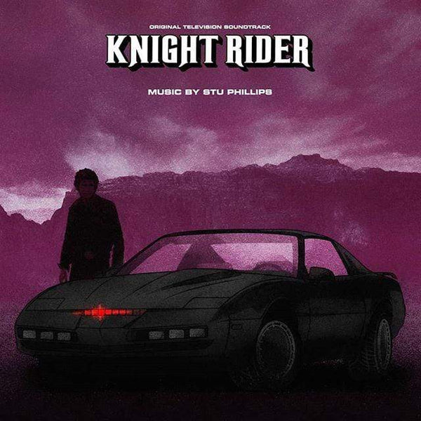 Stu Phillips - Knight Rider: Original Soundtrack (2xLP) Varese Sarabande Records