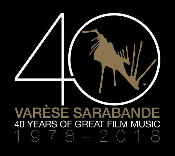 Various Artists - Varèse Sarabande: 40 Years of Great Film Music 1978-2018 (2xLP) Varese Sarabande Records
