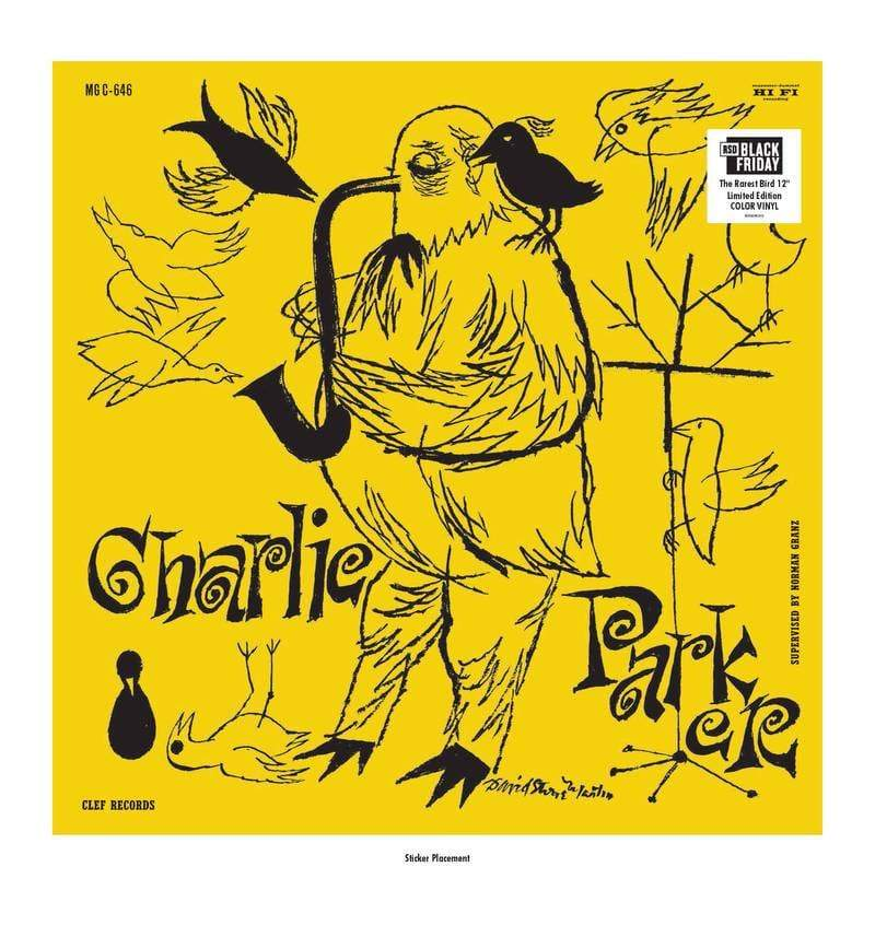 Charlie Parker - The Magnificent Charlie Parker (LP - Yellow Colored Vinyl) Verve