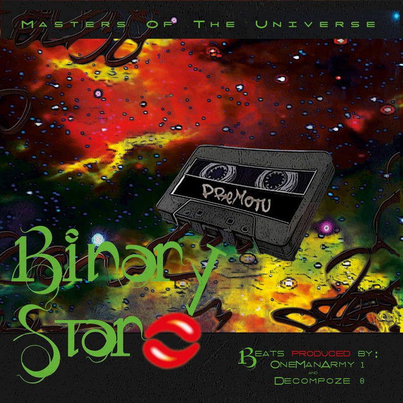 Binary Star - Masters Of The Universe (2xLP - Reissue) Vinyl Digital
