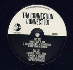Tha Connection (Hus Kingpin & Smoovth) - Connect 101 (I Want It Back) (LP) Vinyl Digital