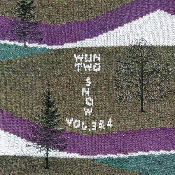 Wun Two - Snow Vol. 3 & Vol. 4 (White Vinyl LP) Vinyl Digital