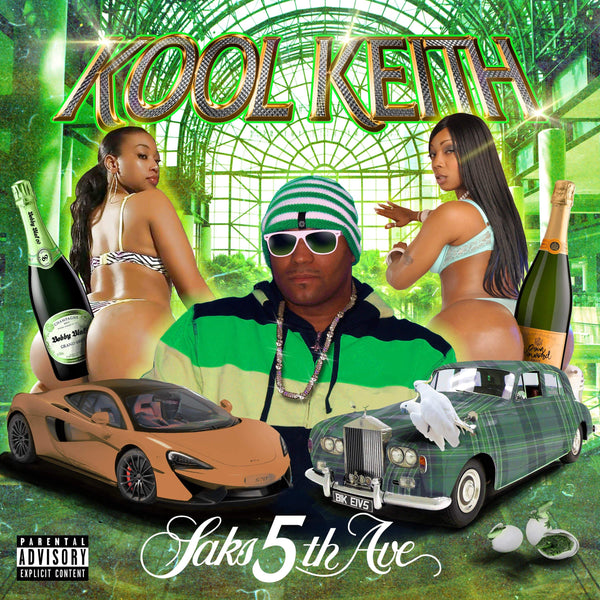 Kool Keith - Saks 5th Ave. (LP) Volunteer Media