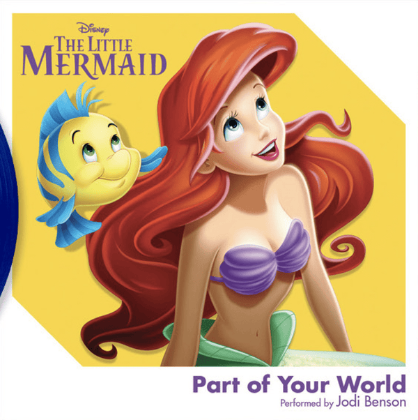 "Jodi Benson - Part of Your World from ""The Little Mermaid"" (3"") Walt Disney Records"