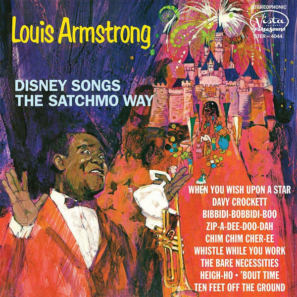 Louis Armstrong - Disney Songs The Satchmo Way (LP) Walt Disney Records