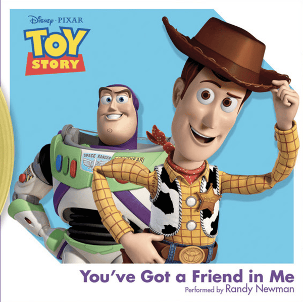 "Randy Newman - You've Got a Friend in Me from ""Toy Story"" (3"") Walt Disney Records"