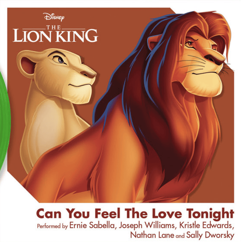 "Various Artists - Can You Feel the Love Tonight from ""The Lion King"" (3"") Walt Disney Records"