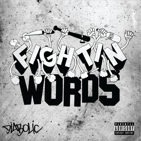 Diabolic - Fightin' Words (CD) Warhorse Records