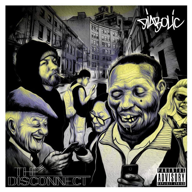 Diabolic - The Disconnect (LP) Warhorse Records