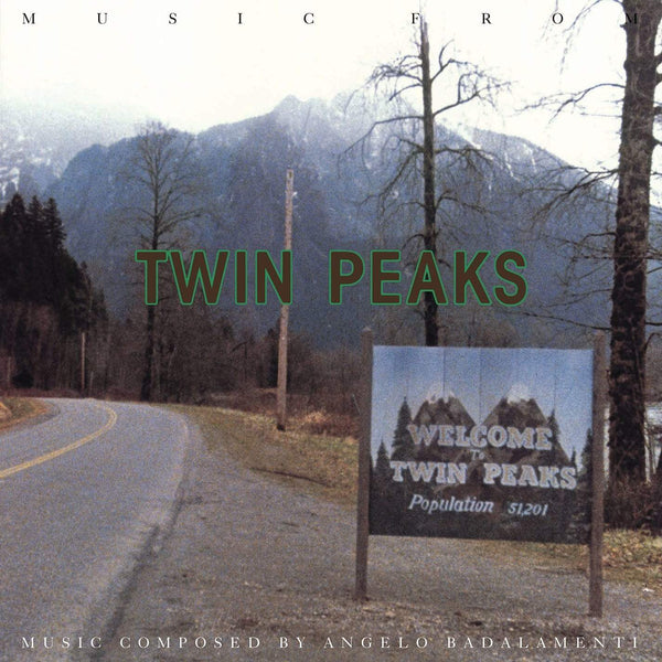 Angelo Badalamenti - Music From Twin Peaks (LP - Limited Green Vinyl) Warner Brothers