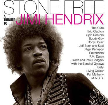 Various Artists - Stone Free: Jimi Hendrix Tribute (2xLP - Black & Clear Vinyl) Warner Brothers