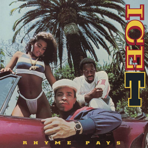 Ice-T - Rhyme Pays (LP - Yellow Vinyl) Warner Records