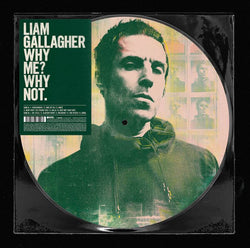 Liam Gallagher - Why Me? Why Not. (LP - Picture Disc) Warner Records
