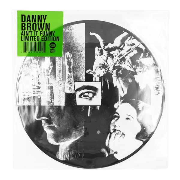 "Danny Brown - Ain't It Funny (10"" - Picture Disc Vinyl) Warp Records"