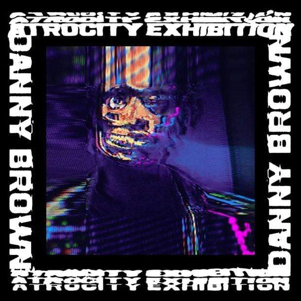 Danny Brown - Atrocity Exhibition (2xLP - Neon Pink Vinyl + Booklet) Warp Records
